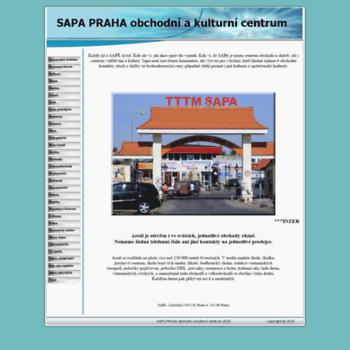 Sapa-praha.cz thumbnail