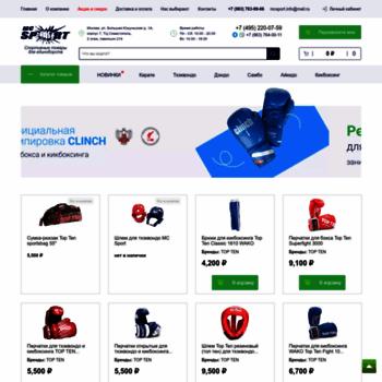 Sapsport.ru thumbnail