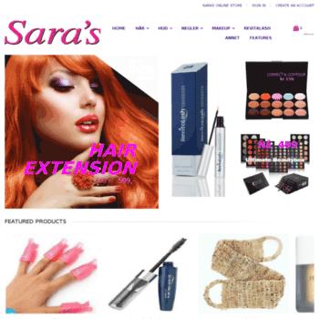 Saras.no thumbnail