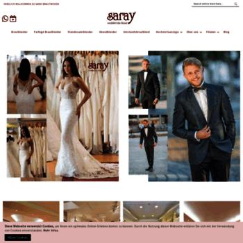 Saray Brautmoden De At Wi Hochzeitskleider Gunstig Saray