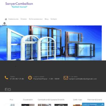 Sariyercambalkon.net thumbnail