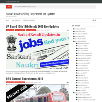 Sarkariresultupdates.in thumbnail