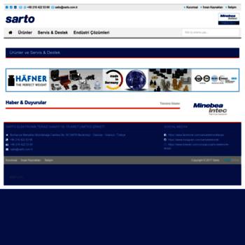 Sarto.com.tr thumbnail