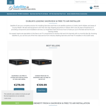 satellite ie at WI  Saorview Free to Air and Freesat UK TV channels