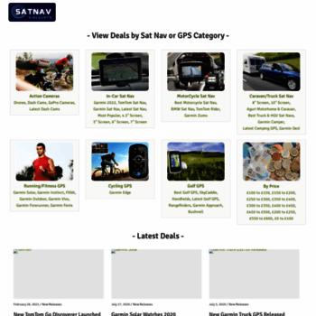 Satnav-discounts.co.uk thumbnail