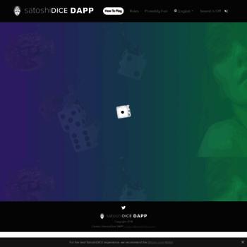 satoshidice com at WI  Satoshi Dice Bitcoin Games | Bitcoin Dice