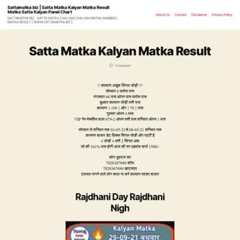Sattamatka.biz thumbnail