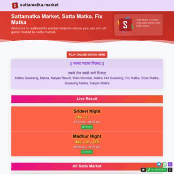 Sattamatka.market thumbnail
