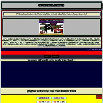Sattamatka.services thumbnail