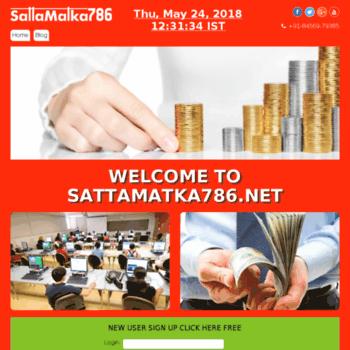 Sattamatka786.net thumbnail