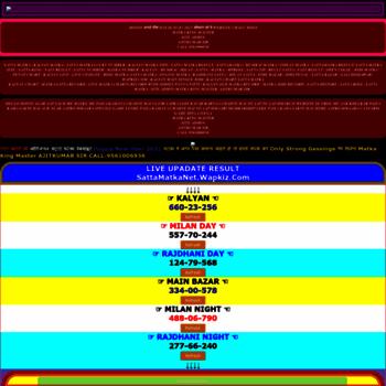 Sattamatkanet.wapkiz.com thumbnail