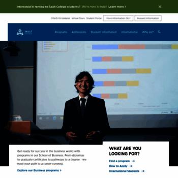 Sault College Of Applied Arts Technology At Website Informer