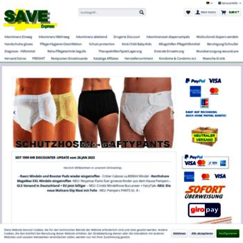 Saveexpress.de thumbnail