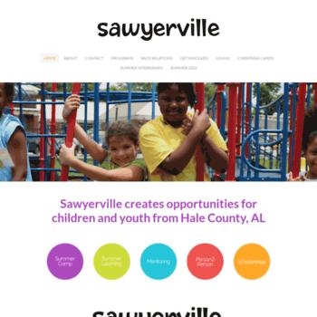 Sawyerville.org thumbnail