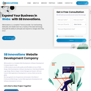 sbinnovations in at WI  Affordable Professional Web