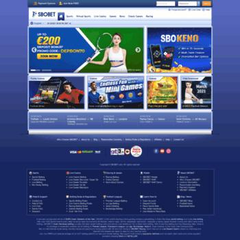 Sbobet.co.uk thumbnail