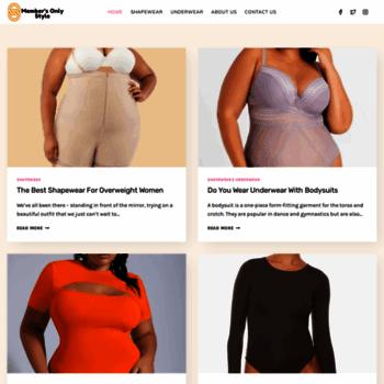 8025e6e5fa5f9 Scalashapewear.com thumbnail. Alexa Rank  13456054. Scala Slimming  Underwear