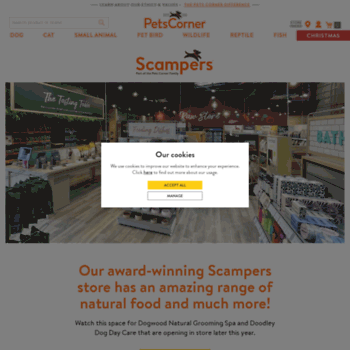 Scampers.co.uk thumbnail