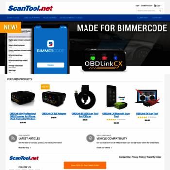 Scantool.net thumbnail