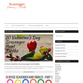 Scavenger-hunt.org thumbnail