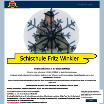 Schischule-winkler.at thumbnail