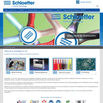 Schloetter.co.uk thumbnail