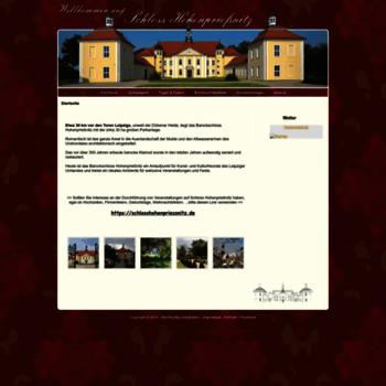 Schloss-hohenpriessnitz.de thumbnail