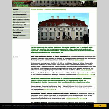 Schloss-meseberg.de thumbnail