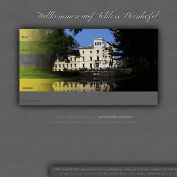 Schloss-steinhoefel.de thumbnail
