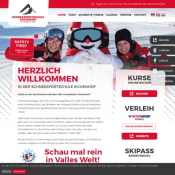 Schneesportschule-eichenhof.at thumbnail
