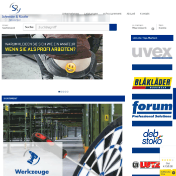 schneider at WI. Schneider & Rueseler GmbH
