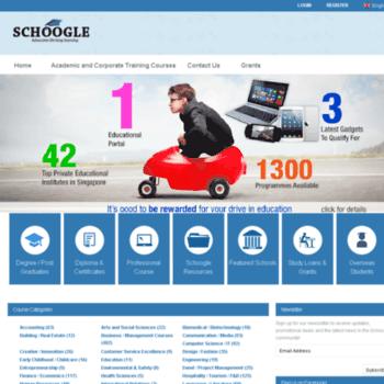Schoogle.com.sg thumbnail