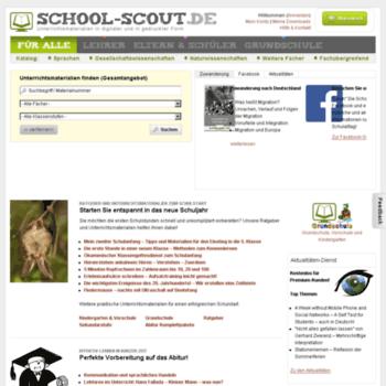 School Scout Ratgeberde At Wi Unterrichtsmaterial Und