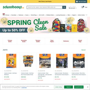 Schoolbooks.ie thumbnail