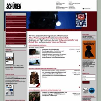 Schueren-verlag.de thumbnail