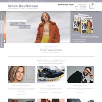 Schuh Kauffmann | Unter & Übergrößen für Damen & Herren