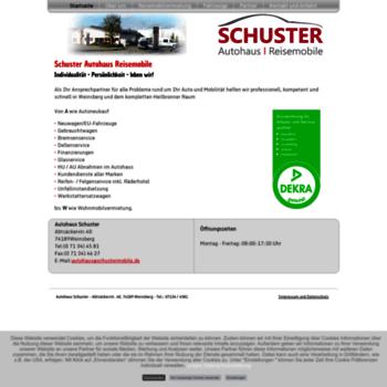 Schustermobile.de thumbnail