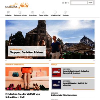 Schwaebischhall-aktiv.de thumbnail