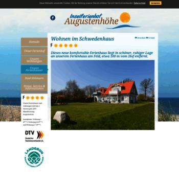 Schwedenhaus-fehmarn.de thumbnail