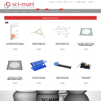 Sci-mart.com thumbnail