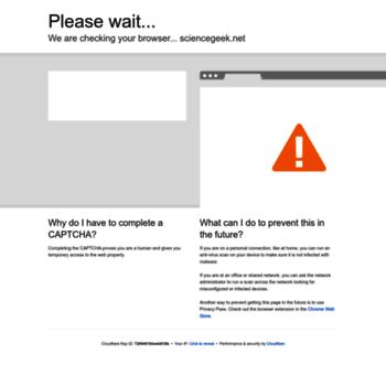 Sciencegeek.net thumbnail