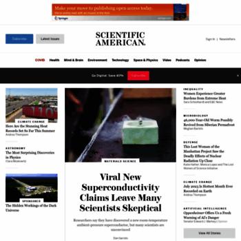 Scientificamerican.com thumbnail
