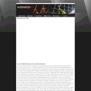 Scorehunter.net thumbnail