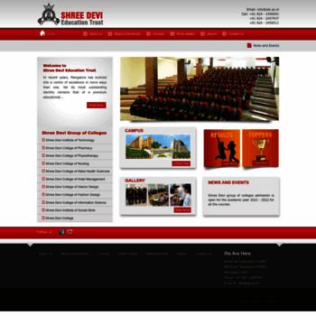 Sdc Ac In At Wi Shree Devi Education Trust R Mangalore Shree Devi Group Of