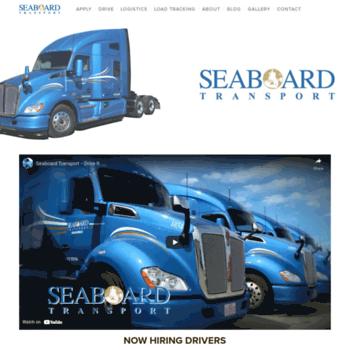 Seaboardtransport.net thumbnail