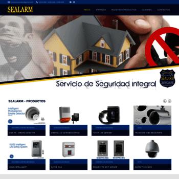 Sealarm.com.ec thumbnail