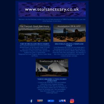 Sealsanctuary.co.uk thumbnail