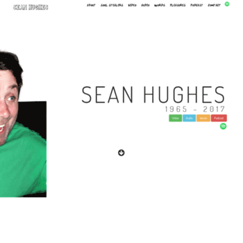 Seanhughes.co.uk thumbnail