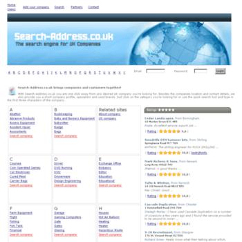 Search-address.co.uk thumbnail