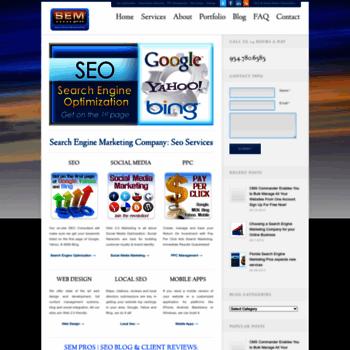 Searchenginemarketingpros.net thumbnail